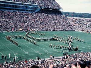 Moo U, or sometimes called The Udder U, Marching Band in the 1960's